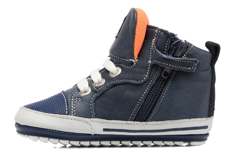 Bottines et boots Shoesme Severin Bleu vue face