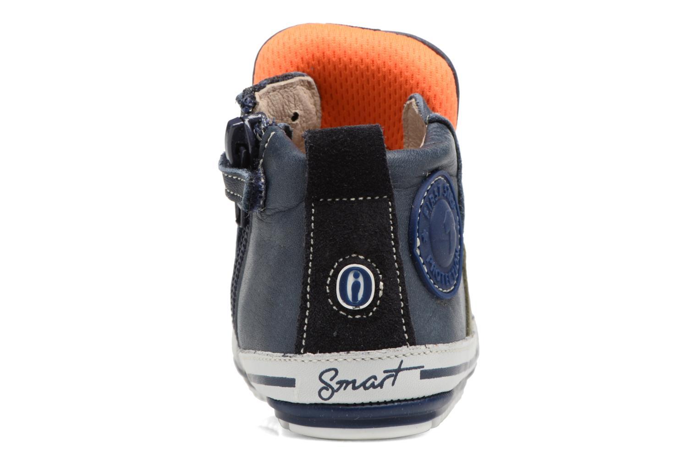 Bottines et boots Shoesme Severin Bleu vue droite