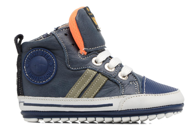 Boots en enkellaarsjes Shoesme Severin Blauw achterkant