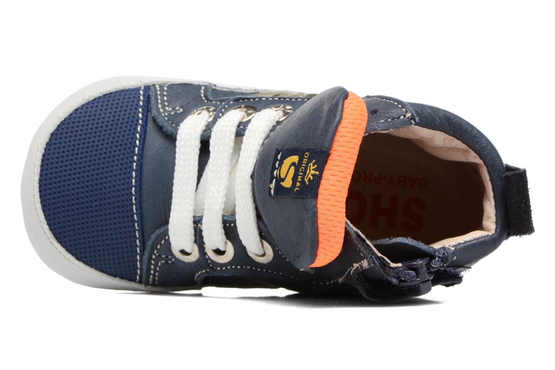 Bottines et boots Shoesme Severin Bleu vue gauche