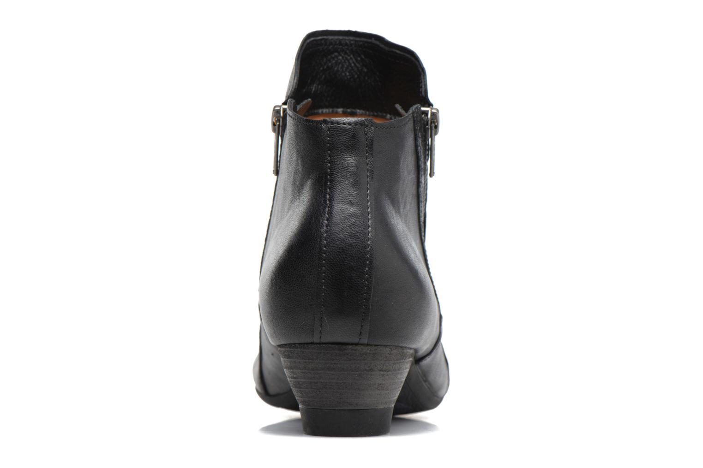 Bottines et boots Think! Aida 81267 Noir vue droite
