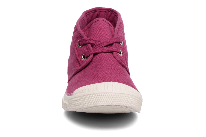 Baskets Bensimon Tennis New Nils Violet vue portées chaussures