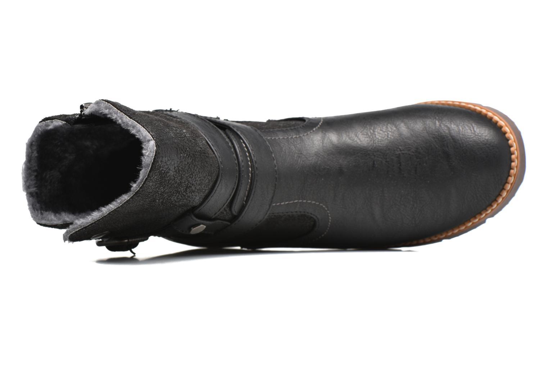 Botines  Refresh Gidge Negro vista lateral izquierda