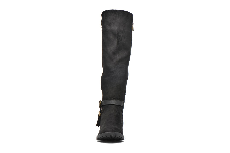 Bottes Refresh Woode Noir vue portées chaussures