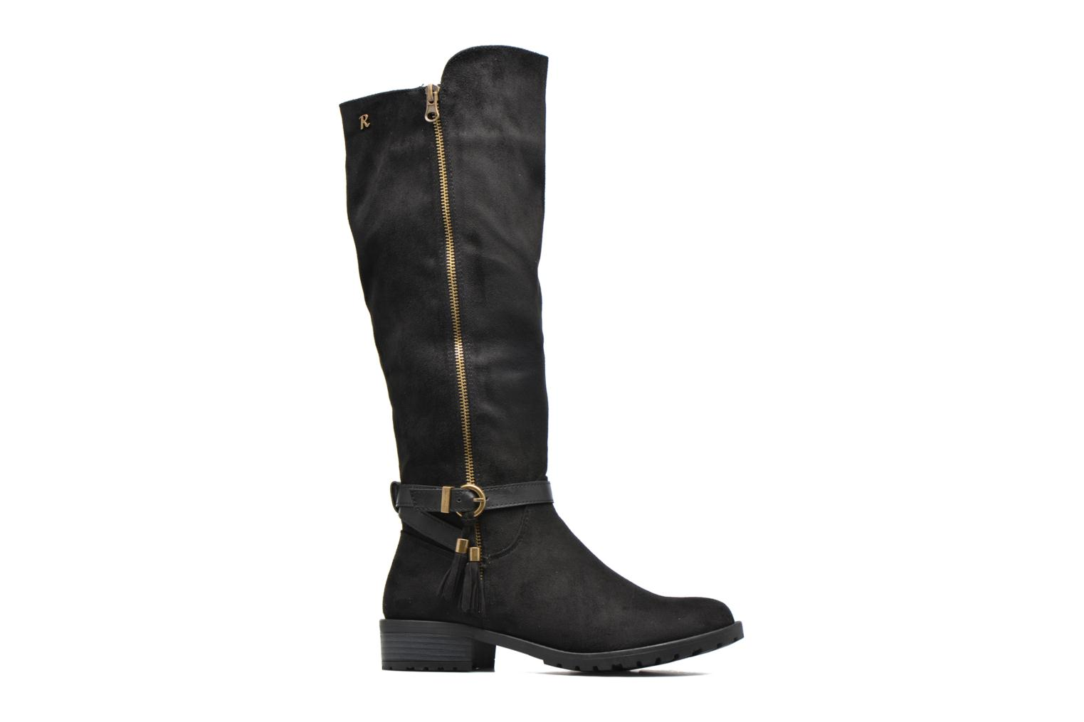 Botas Refresh Woode Negro vistra trasera
