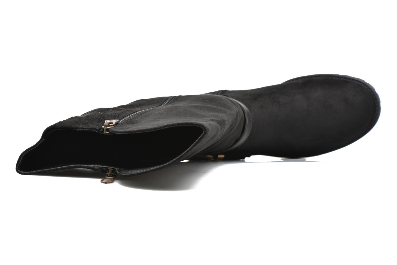 Botas Refresh Woode Negro vista lateral izquierda