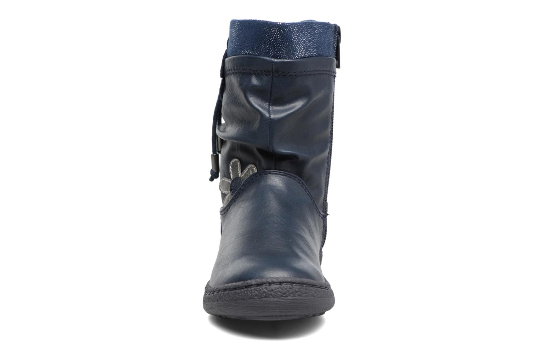Bottes Chicco Ciambella Bleu vue portées chaussures