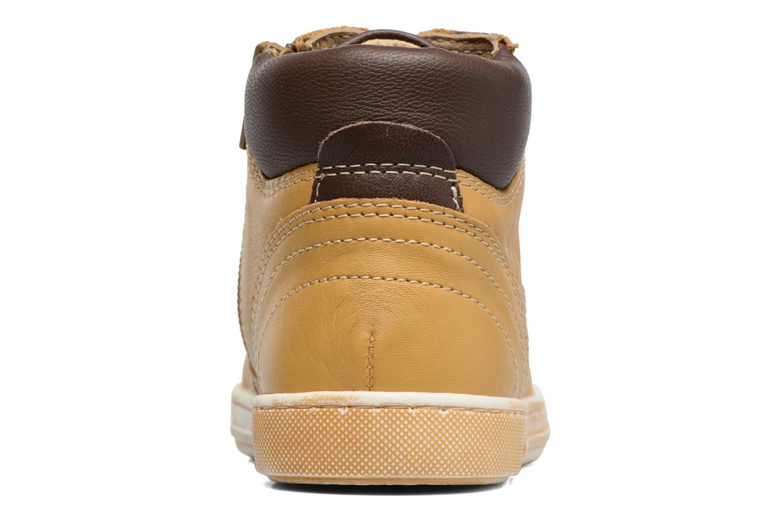 Bottines et boots Chicco Clover Jaune vue droite