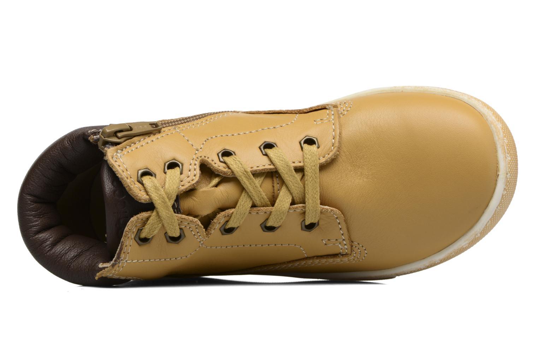 Bottines et boots Chicco Clover Jaune vue gauche