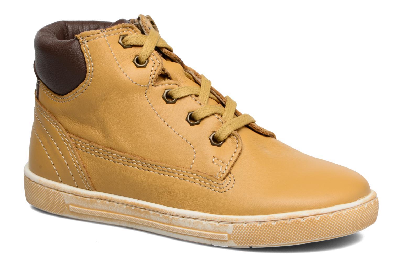 Bottines et boots Chicco Clover Jaune vue détail/paire