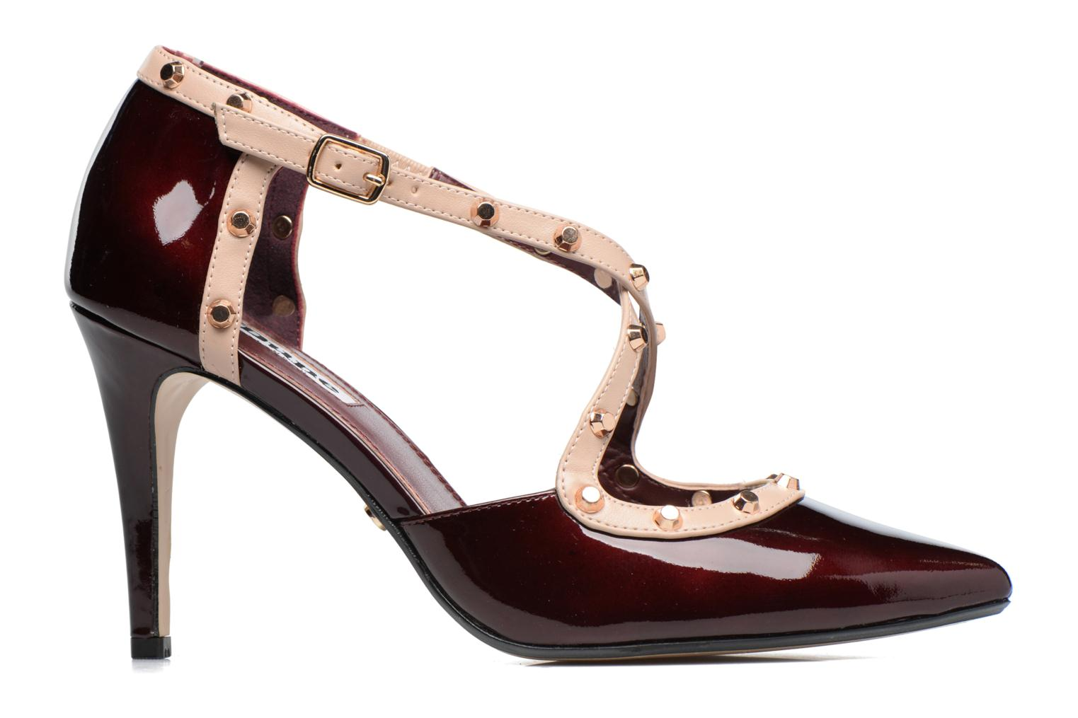 Pumps Dune London Cayleigh Bordeaux achterkant