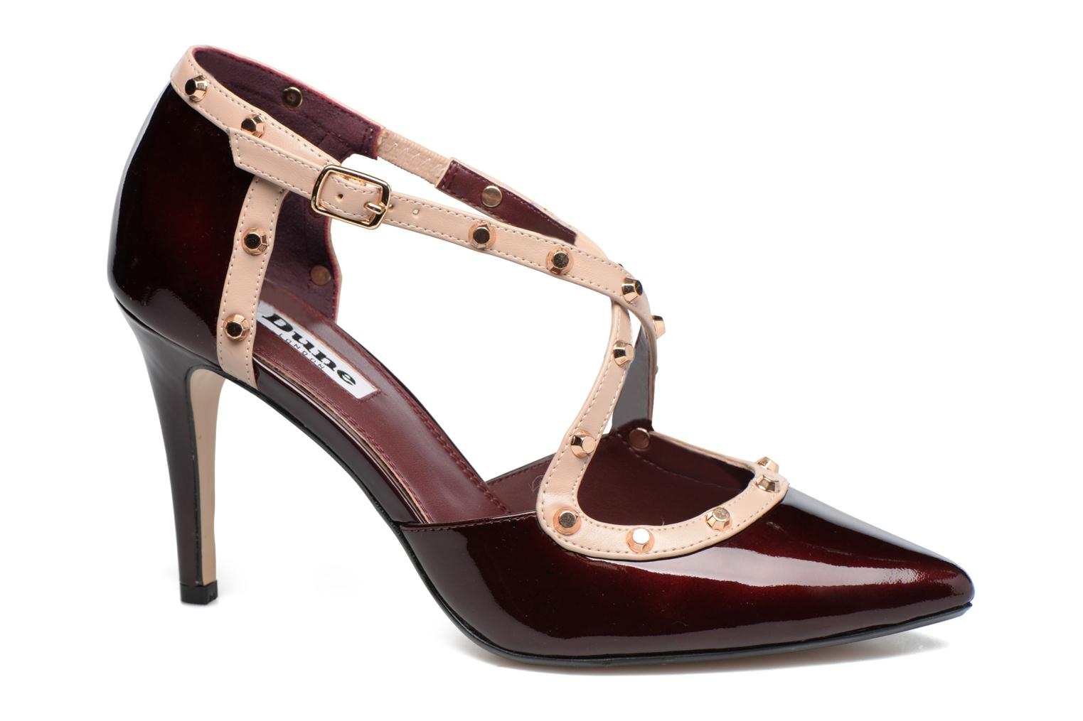 Pumps Dune London Cayleigh Bordeaux detail