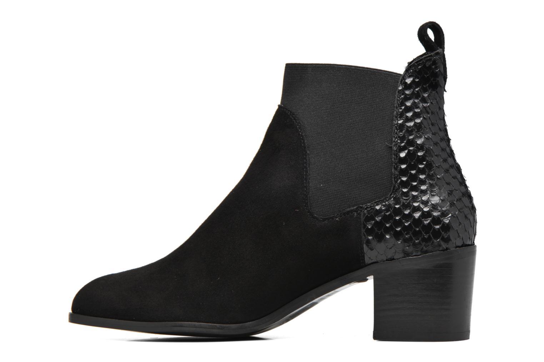 Bottines et boots Dune London Oprentice Noir vue face