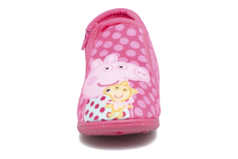Chaussons Peppa Pig PP Rosanna Rose vue portées chaussures