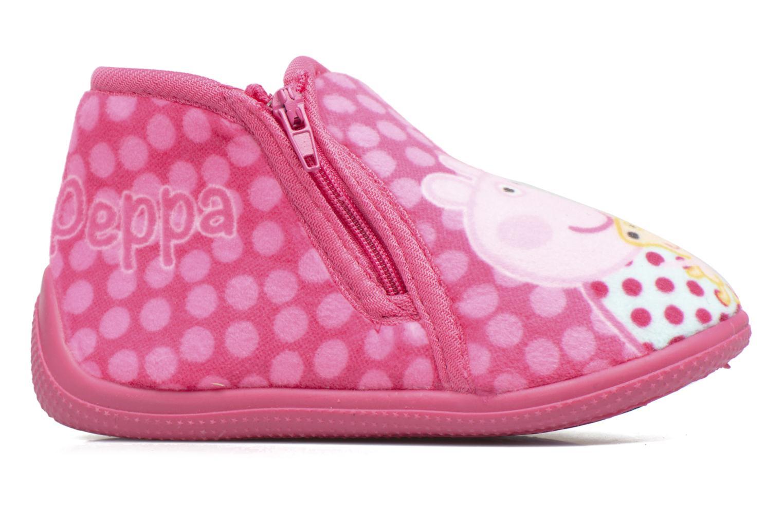 Pantoffels Peppa Pig PP Rosanna Roze achterkant