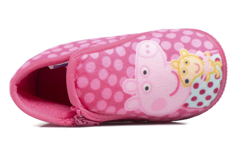 Pantoffels Peppa Pig PP Rosanna Roze links