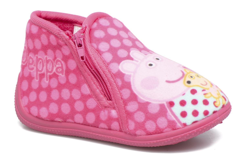 Chaussons Peppa Pig PP Rosanna Rose vue détail/paire