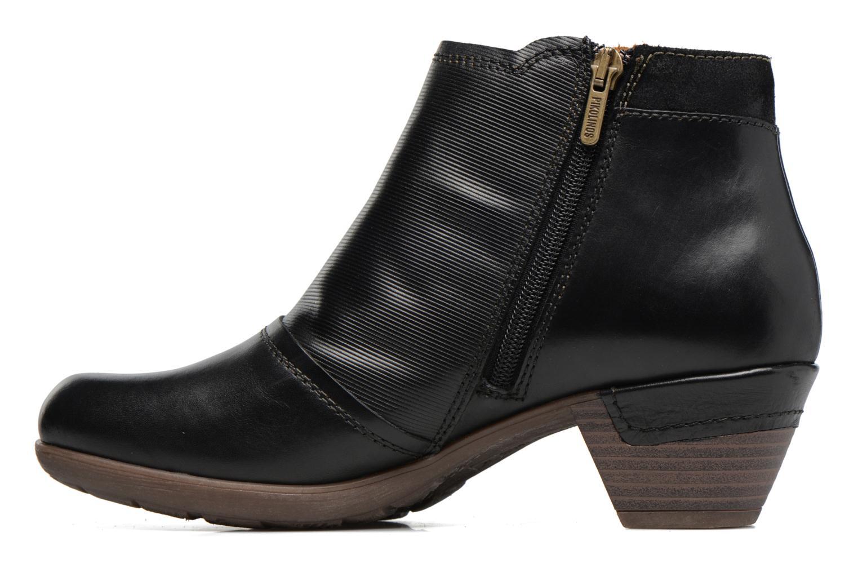 Bottines et boots Pikolinos ROTTERDAM 902-8903 Noir vue face