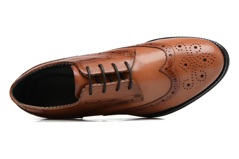 Chaussures à lacets Pikolinos ROYAL W5M-5701 Marron vue gauche