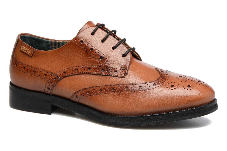 Chaussures à lacets Pikolinos ROYAL W5M-5701 Marron vue détail/paire