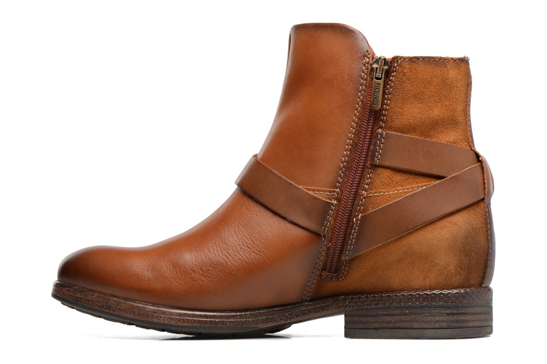 Bottines et boots Pikolinos ORDINO W8M-8919 Marron vue face