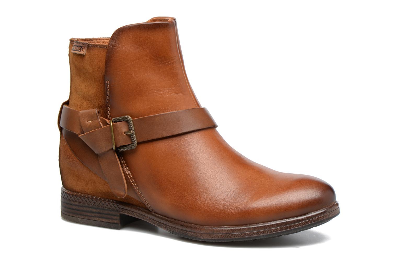 Bottines et boots Pikolinos ORDINO W8M-8919 Marron vue détail/paire