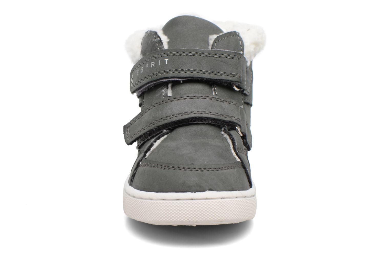 Baskets Esprit Jojo Velcro Boo Gris vue portées chaussures