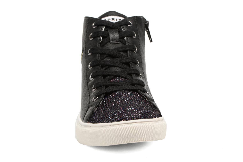 Baskets Esprit Fliou Flower Bo Noir vue portées chaussures