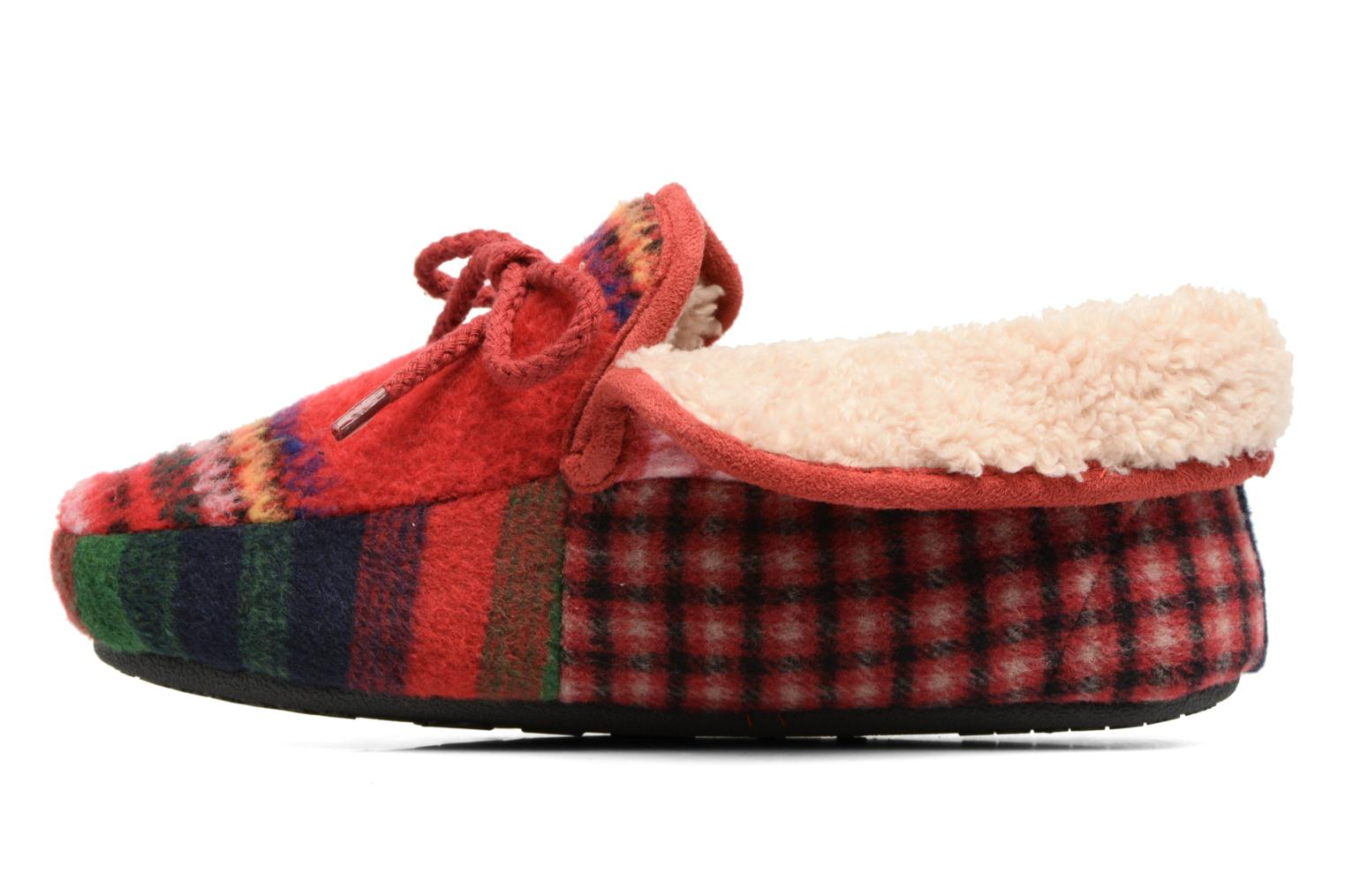 Chaussons Ruby Brown Janet Multicolore vue face