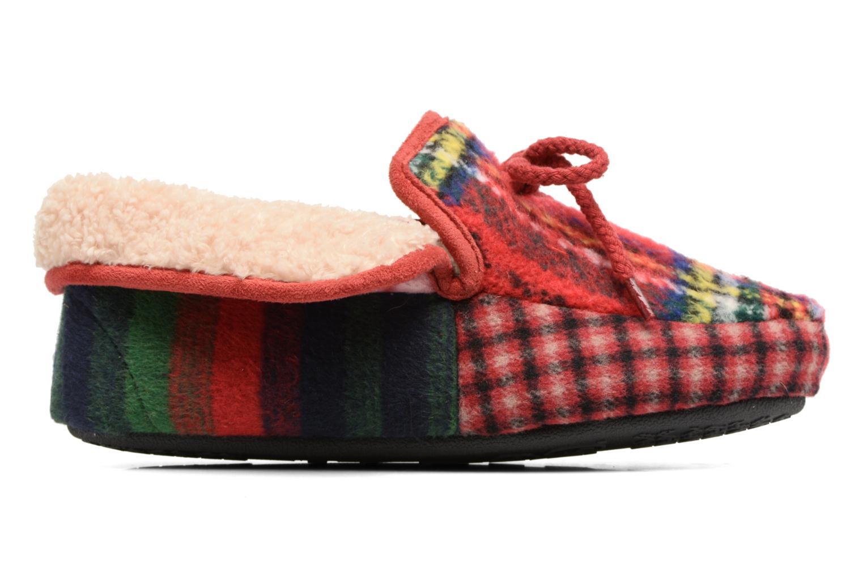 Chaussons Ruby Brown Janet Multicolore vue derrière