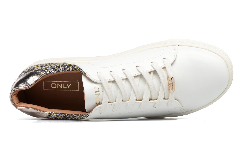 Baskets ONLY Sage contrast sneaker Blanc vue gauche