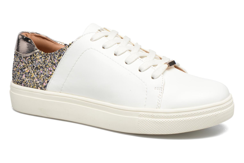 Baskets ONLY Sage contrast sneaker Blanc vue détail/paire
