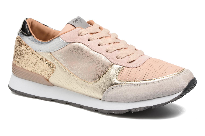 Baskets ONLY Sillie mix sneaker Multicolore vue détail/paire