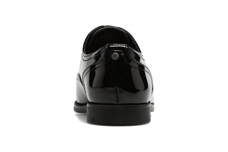 Chaussures à lacets ONLY Tango PU Noir vue droite