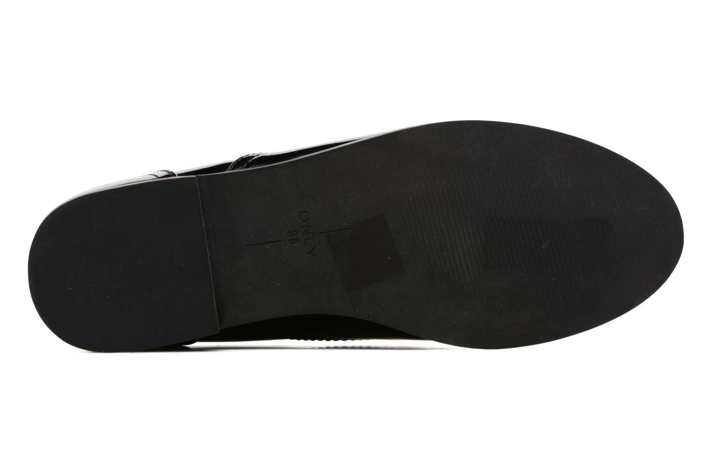 Chaussures à lacets ONLY Tango PU Noir vue haut