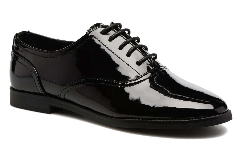 Chaussures à lacets ONLY Tango PU Noir vue détail/paire
