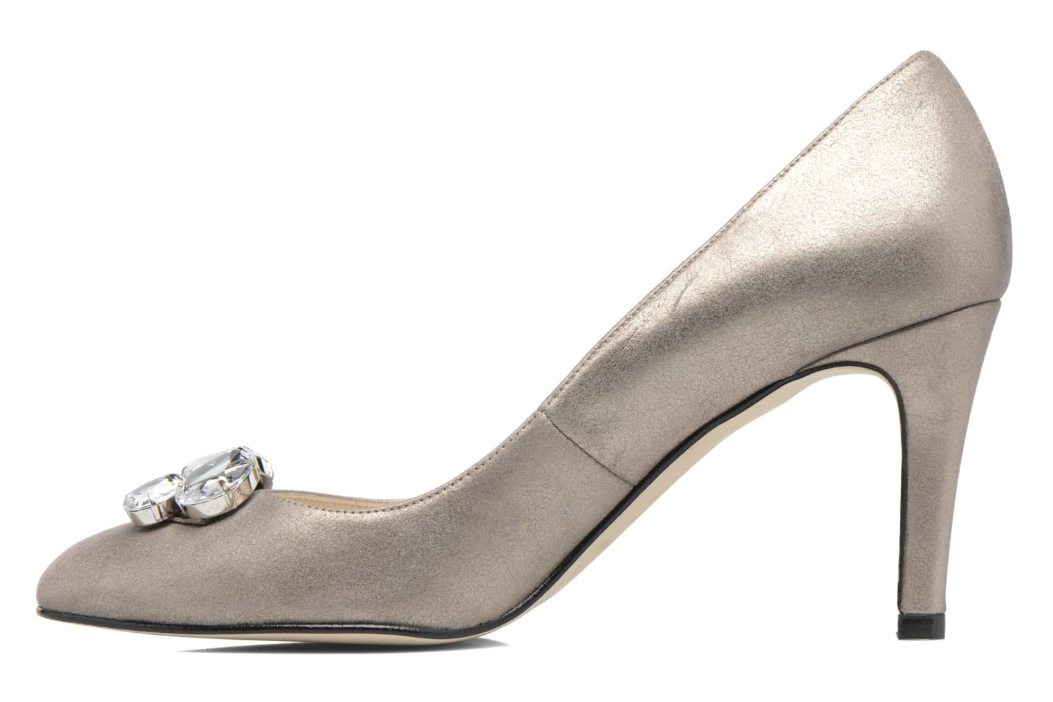 High heels Georgia Rose Epomy Bronze and Gold front view