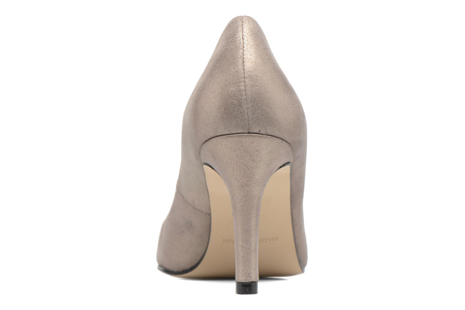 High heels Georgia Rose Epomy Bronze and Gold view from the right