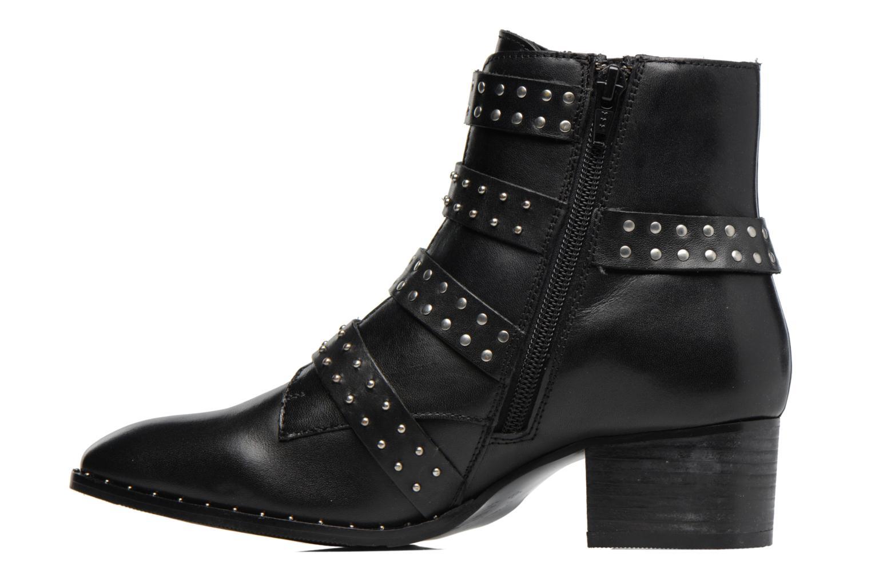 Bottines et boots Bronx Brunex Noir vue face