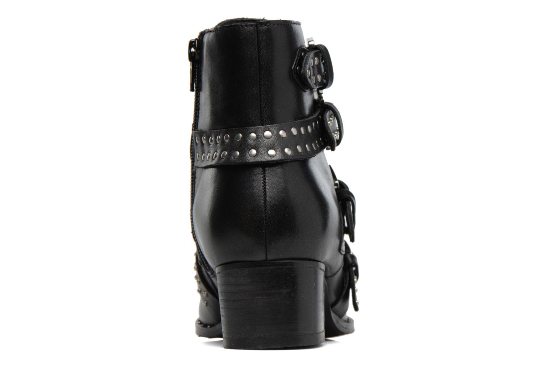 Bottines et boots Bronx Brunex Noir vue droite