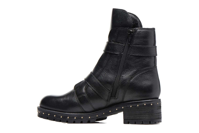 Bottines et boots Bronx Bnewfalcox Noir vue face