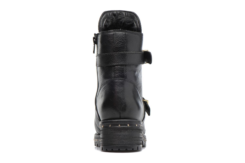 Bottines et boots Bronx Bnewfalcox Noir vue droite