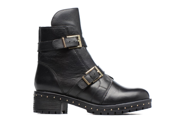 Bottines et boots Bronx Bnewfalcox Noir vue derrière