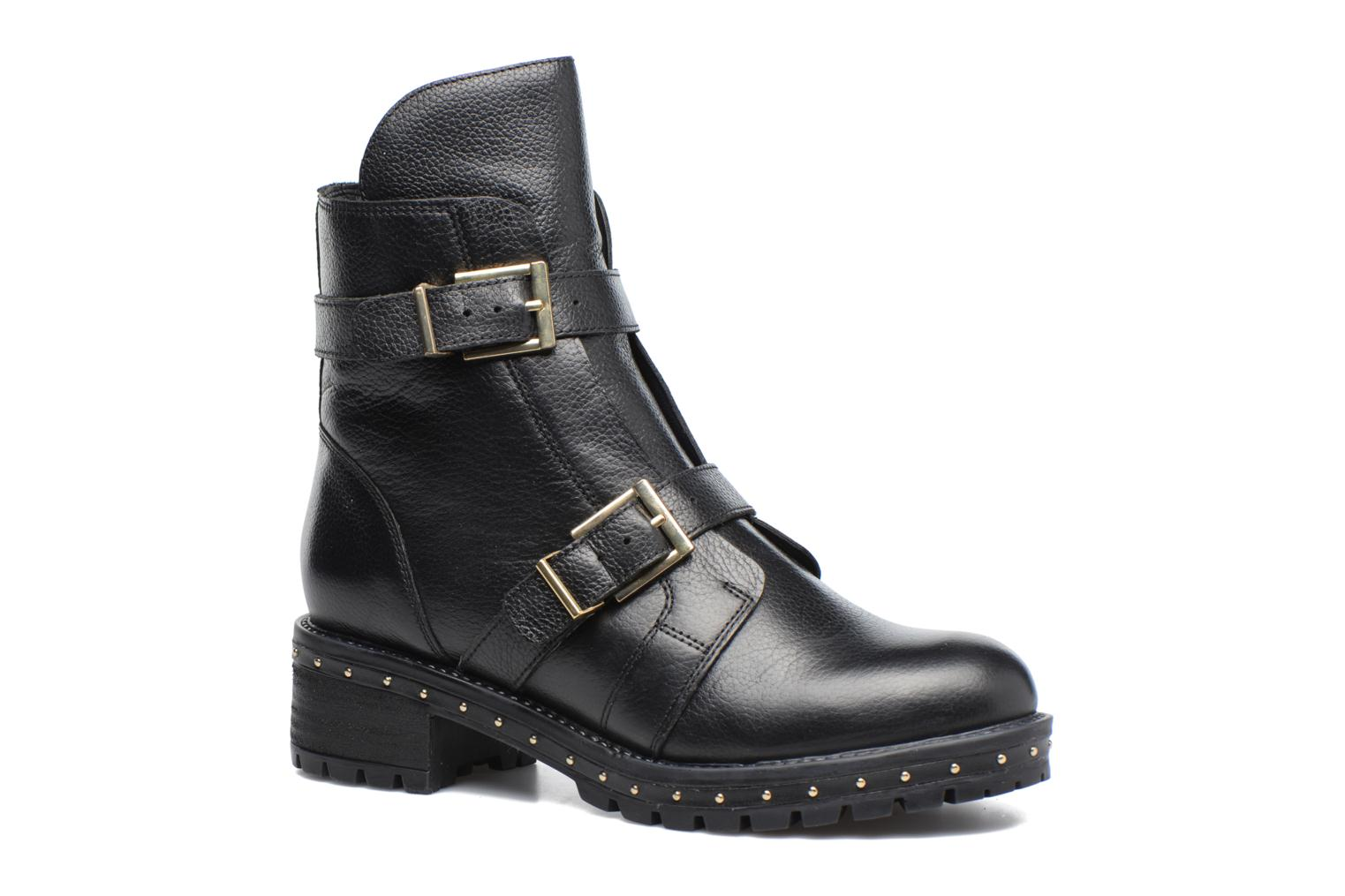 Ankle boots Bronx Bnewfalcox Black detailed view/ Pair view