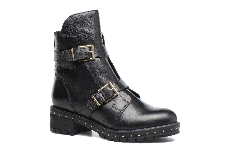 Bottines et boots Bronx Bnewfalcox Noir vue détail/paire