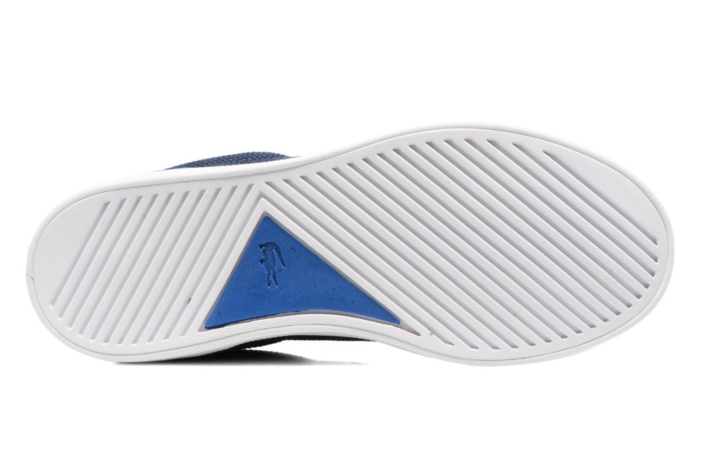 Baskets Lacoste Lerond 317 2 C Bleu vue haut