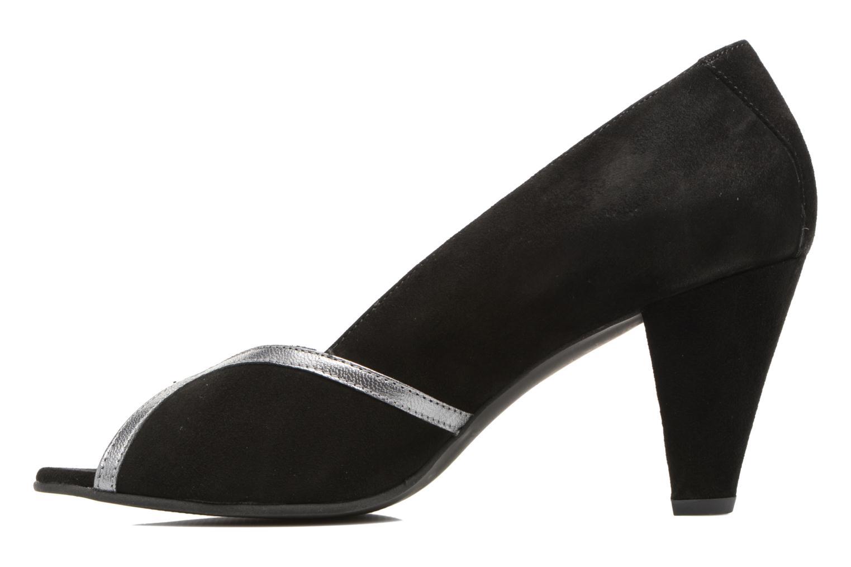High heels Georgia Rose Hesolea Black front view