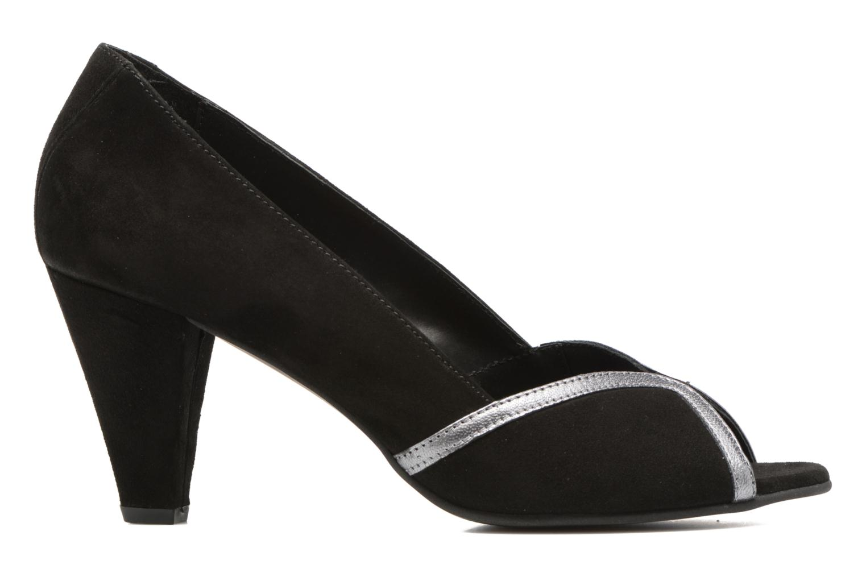 High heels Georgia Rose Hesolea Black back view