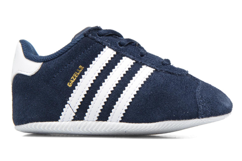Sneakers Adidas Originals Gazelle Crib Blauw achterkant