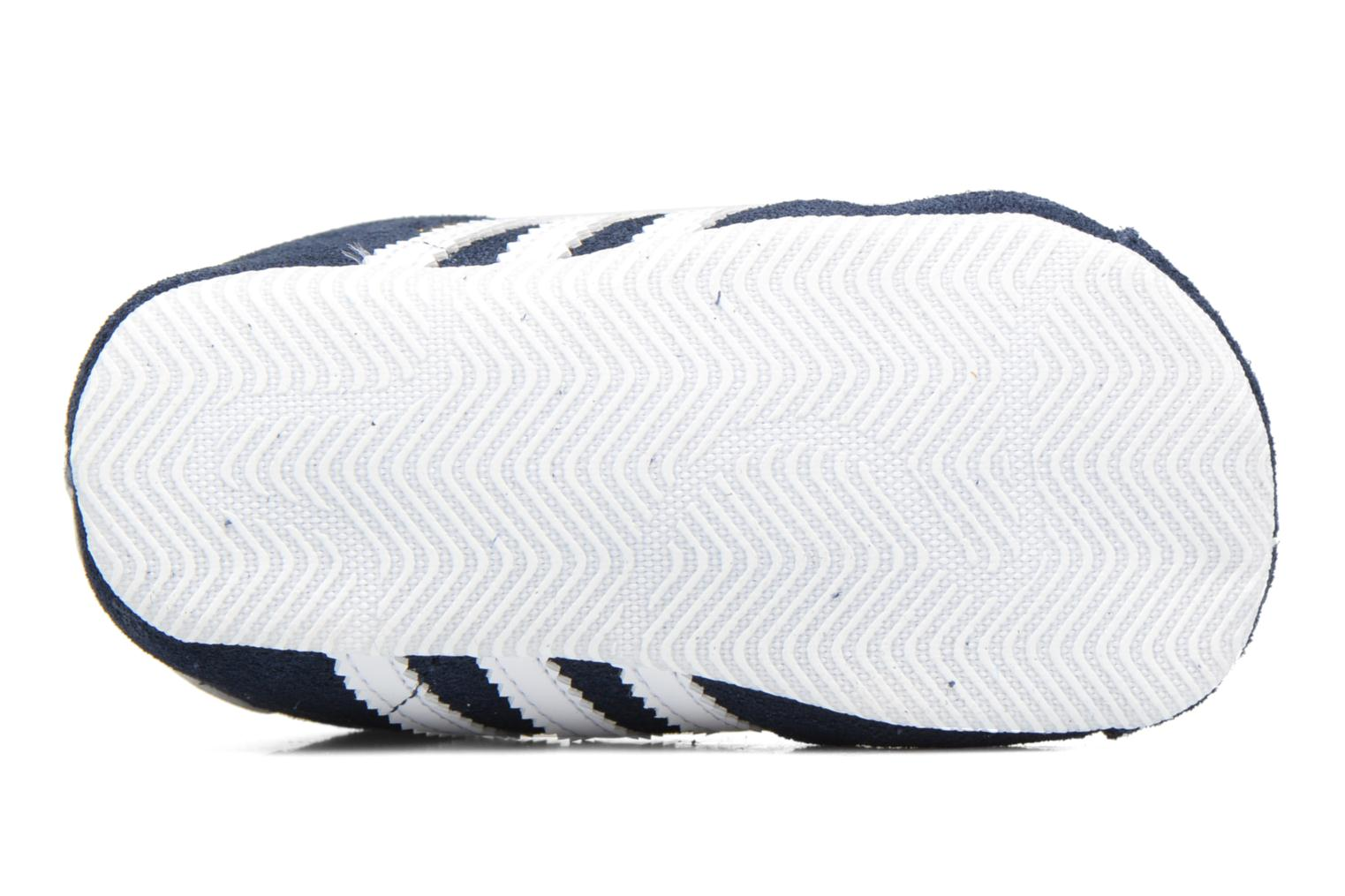 Trainers Adidas Originals Gazelle Crib Blue view from above